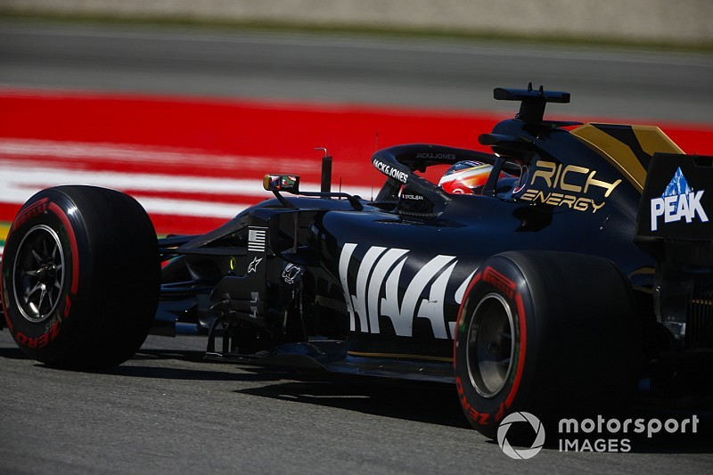 "Haas ""in the mix"" with Red Bull at Barcelona, says Grosjean"
