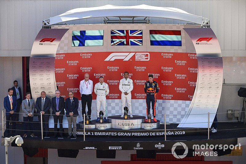TABELA: Hamilton toma liderança de Bottas e Verstappen fica à frente de Ferraris; Veja a classificação