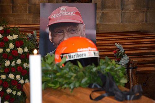 GALERIA: Personalidades dão adeus a Lauda em seu velório em Viena