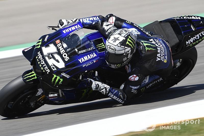 MotoGP Warm-up Assen: Vinales dominiert, Rossi fehlt eine Sekunde