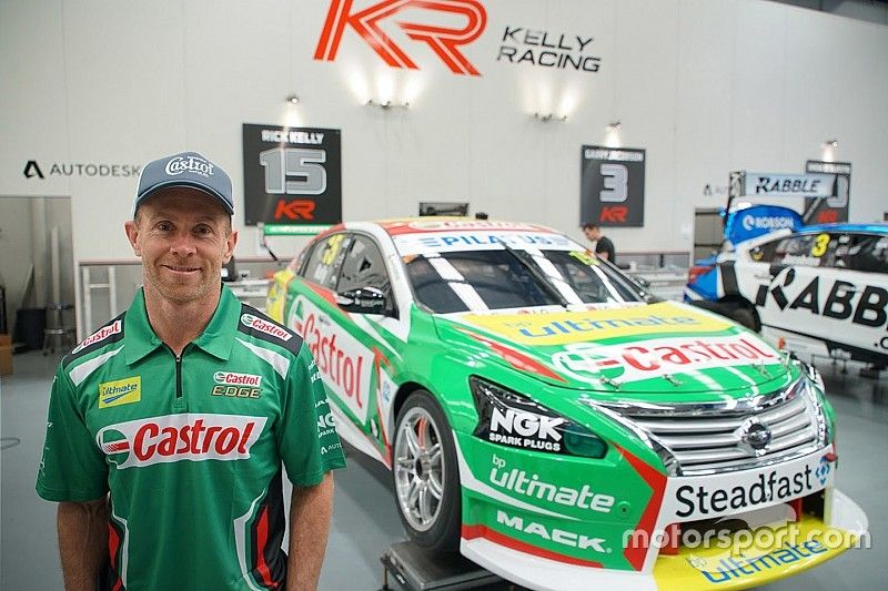 Wood to partner Kelly at Supercars enduros