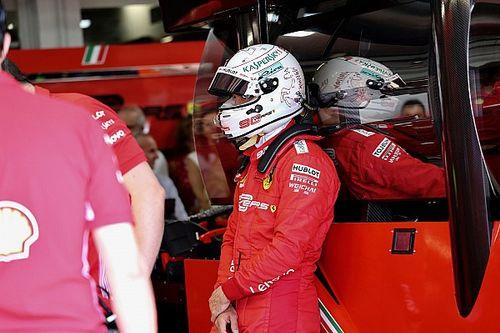 """Vettel: """"Pódio de Leclerc é a única satisfação"""" da Ferrari na França"""