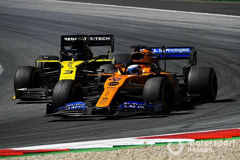 Norris sesto e Sainz ottavo di rimonta: McLaren sempre più quarta forza in F1