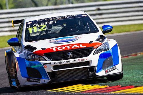 TCR Europe: Jimmy Clairet perde il podio di Spa per l'incidente con Borković