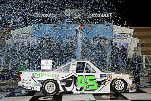 Ross Chastain earns upset win in Kansas Truck race