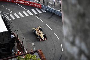 Monaco ePrix: Snelste tijd voor Rowland, maar pole voor Vergne