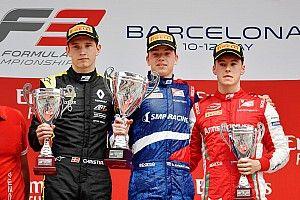 F3: Shwartzman herda vitória na Espanha; Drugovich é 11º e Piquet 26º