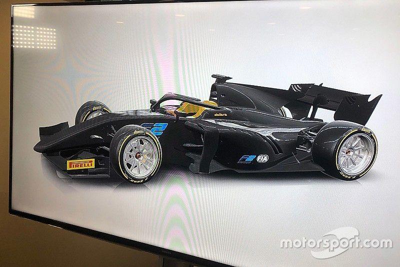 Формула 2 получит 18-дюймовые шины на год раньше Формулы 1