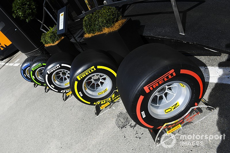 Pirelli reveló los compuestos para Italia 2019