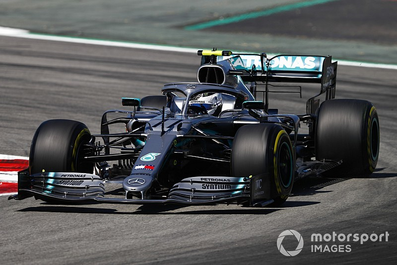 EL2 - Bottas et Hamilton dans un mouchoir, Ferrari en retrait