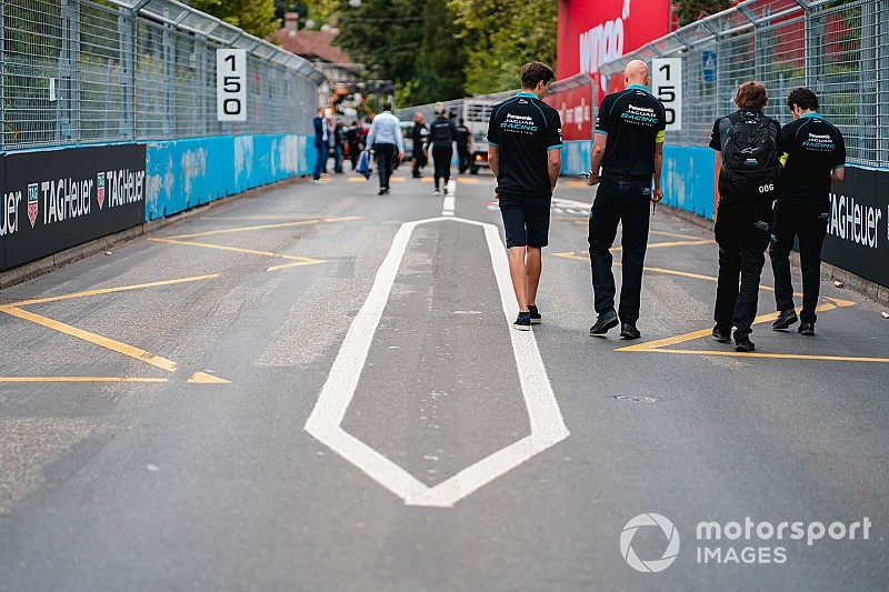 Unfinished Bern Formula E track forces shakedown delay