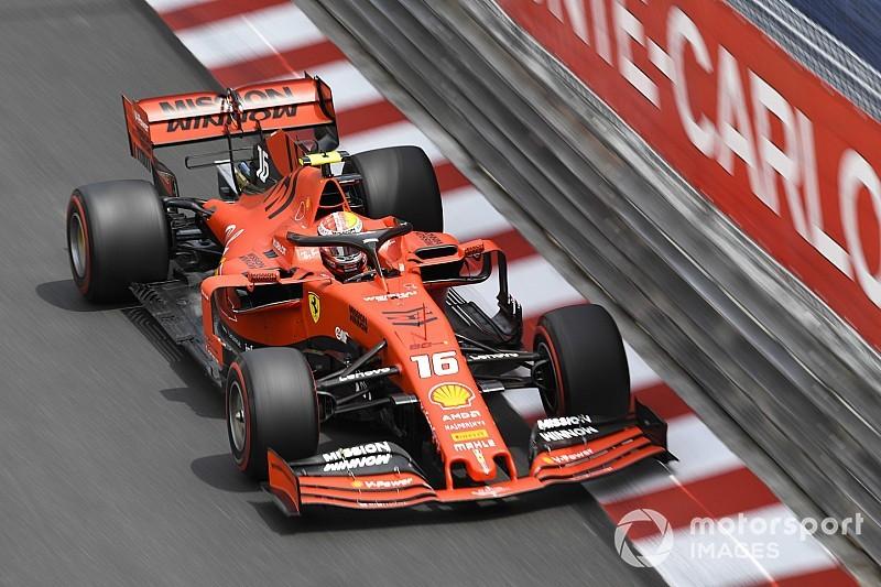 Leclerc odpadł w Q1