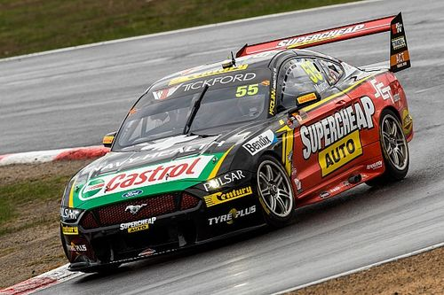 Winton Supercars: Mostert snatches pole from Coulthard