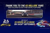 Audiences records pour les 24 Heures du Mans Virtuelles en TV et sur le digital