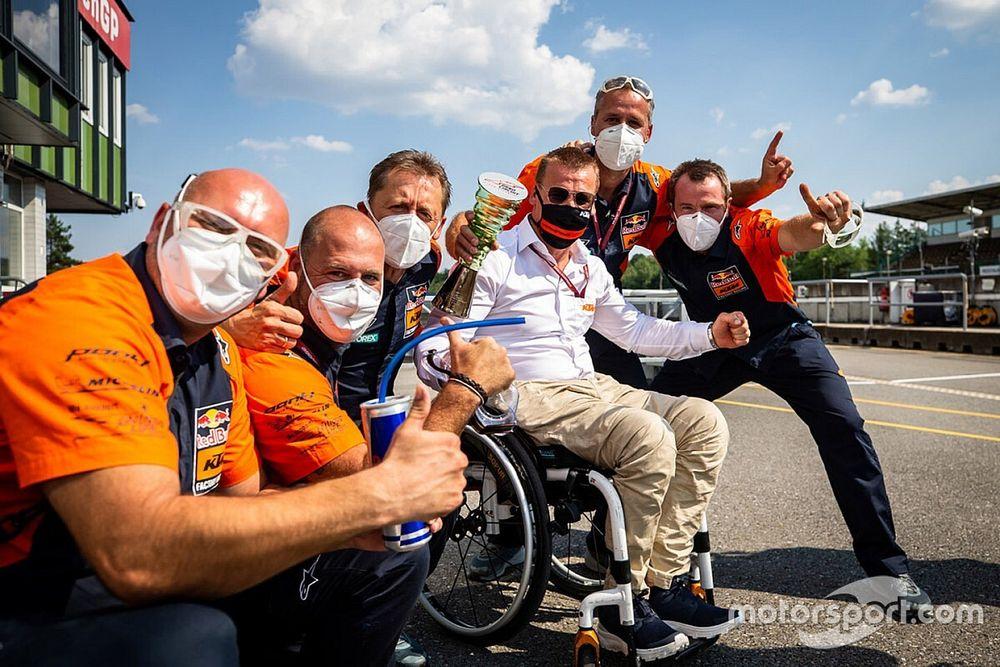 "Beirer, director de KTM: ""Esta victoria no ha llegado por accidente"""