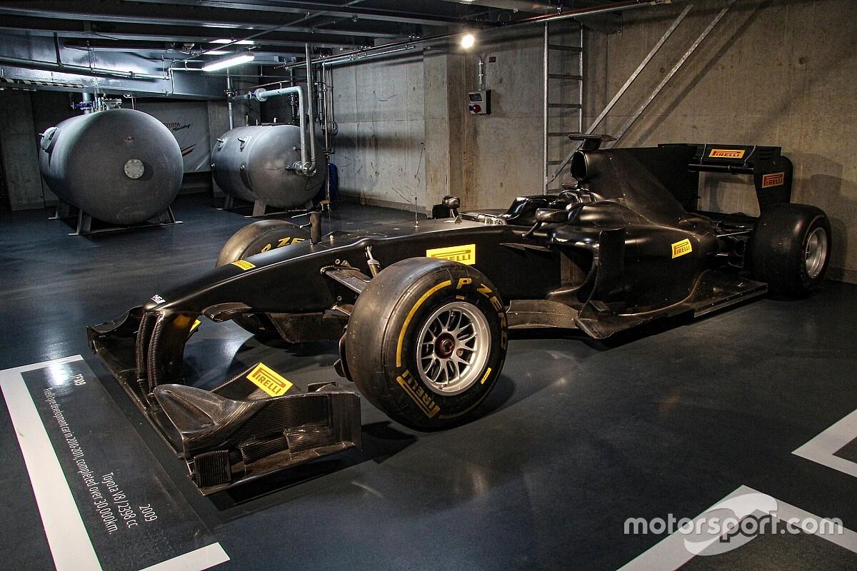 A Toyota az egyik utolsó F1-es autóját adományozta az FIA jótékonysági árverésére
