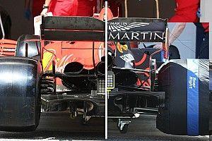 Confronto tecnico: il megafono Ferrari penalizza la SF1000