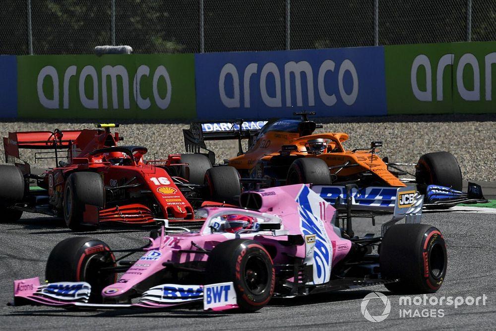"Perez conferma: ""Lotta serrata con McLaren, Renault e... Ferrari"""