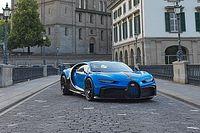 La Bugatti Chiron Pur Sport s'affiche à Zurich