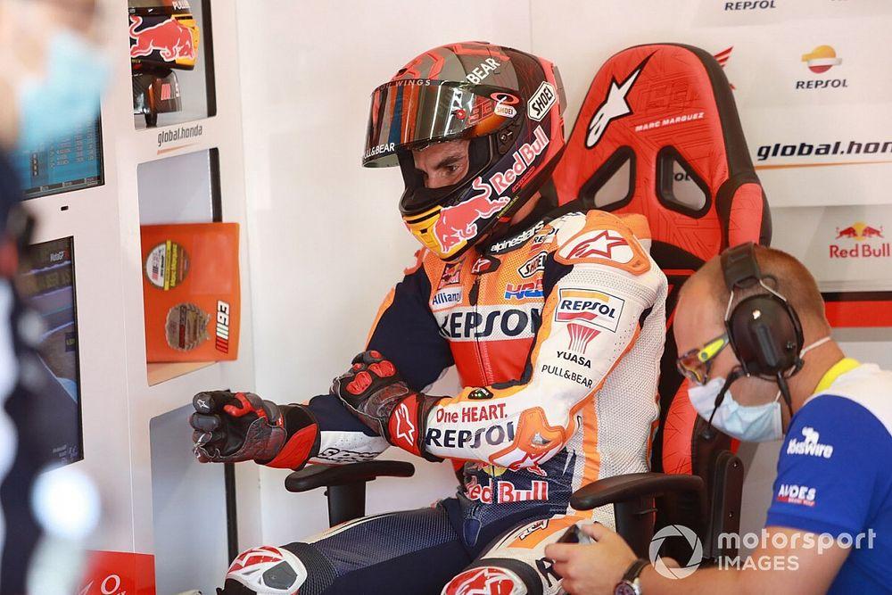 Márquez decide finalmente no correr en Jerez