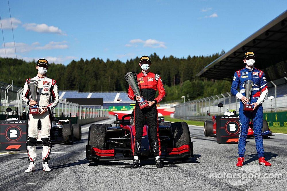 Cómo funcionará el procedimiento del podio en Austria