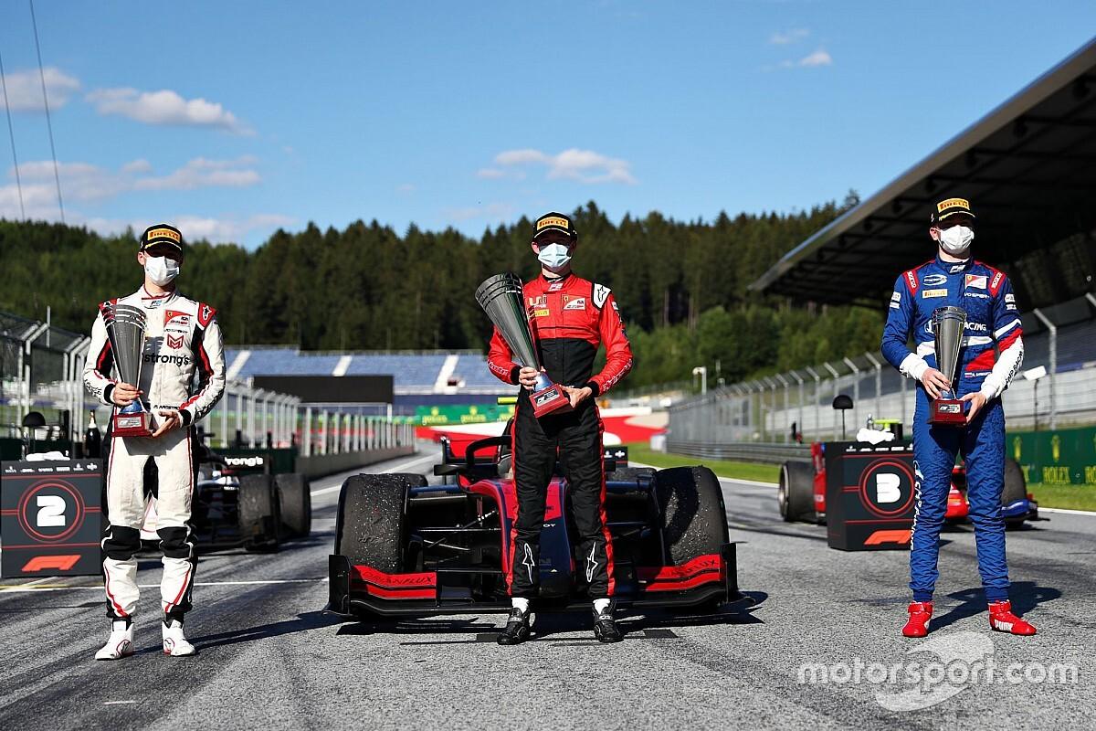 Zo ziet de nieuwe podiumprocedure van de F1 eruit