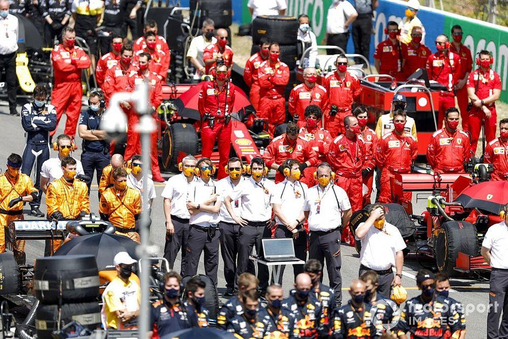 La F1 aumenta su personal en los circuitos y recupera los hospitalities