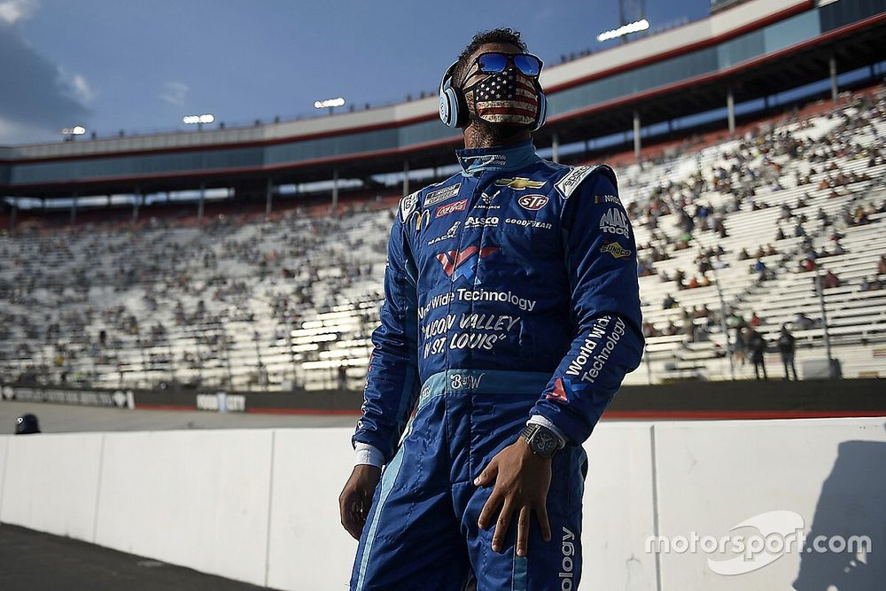 """Bubba Wallace remains """"ready to tackle anything"""""""