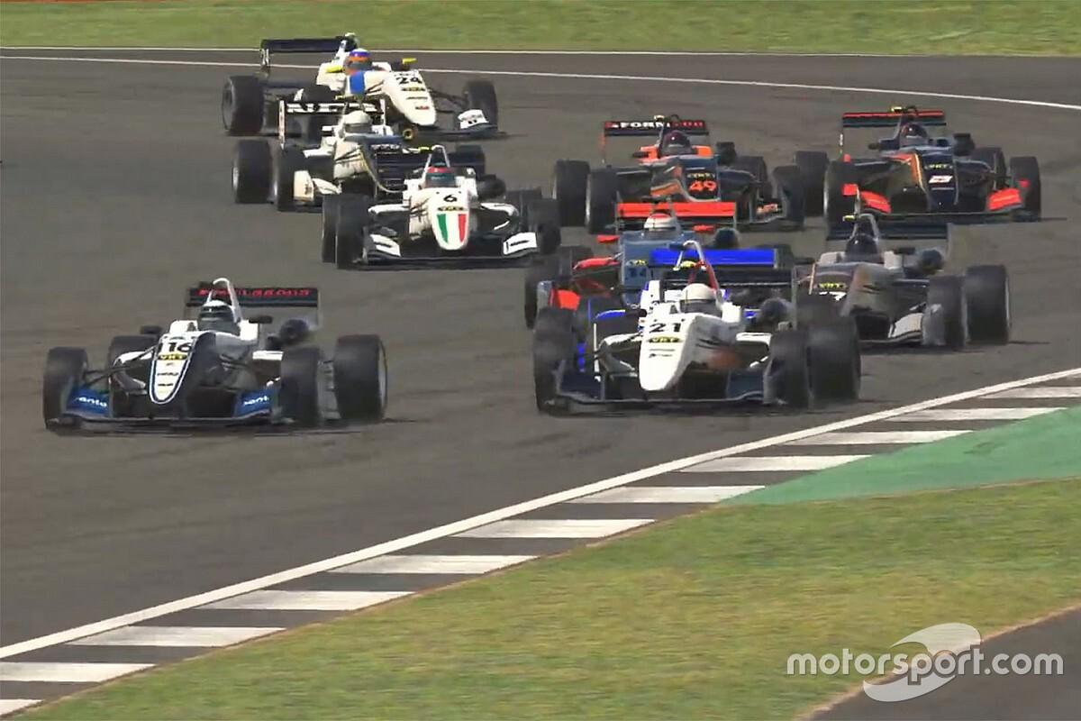 Burcher, King share ARG Silverstone spoils