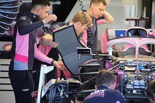 GALERÍA TÉCNICA: actualizaciones de los F1, directamente desde el pitlane