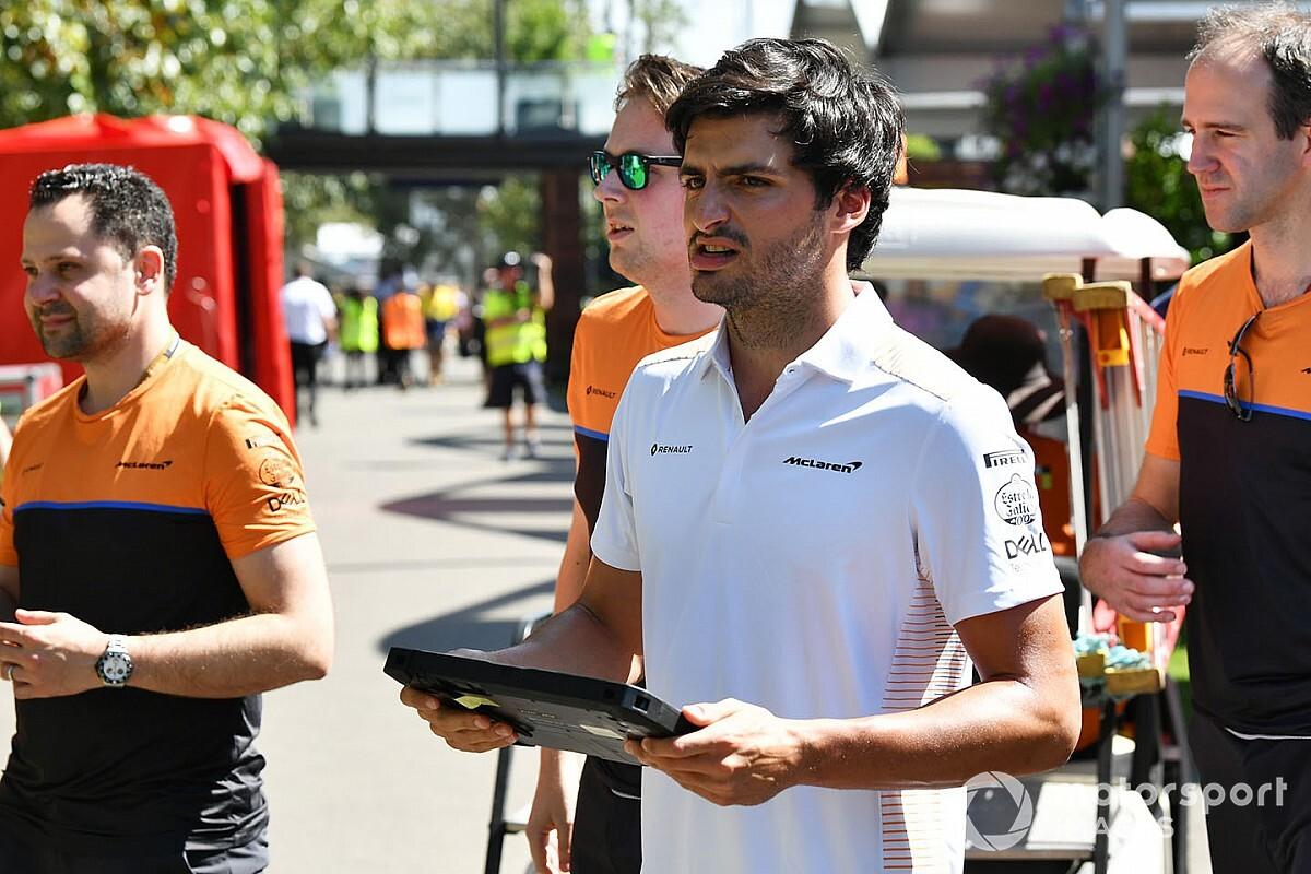 """Sainz: """"Estoy completamente concentrado en la temporada 2020"""""""
