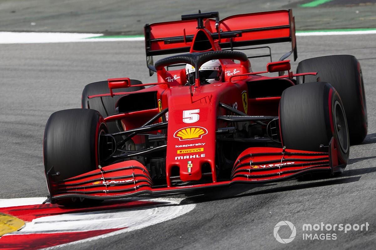 """Vettel hoopvol: """"We zouden er beter voor moeten staan"""""""