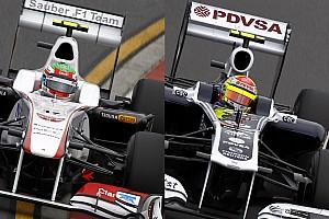 Pérez vs. Maldonado, de la GP2 a la F1