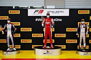 F3 Spielberg 2020: Erstes Rennen wegen starkem Regen abgebrochen