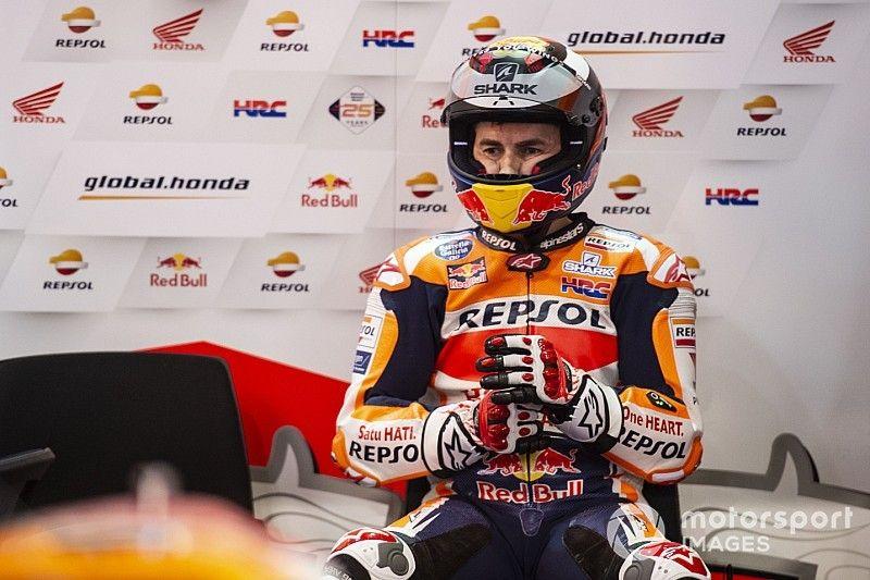 """Lorenzo: """"Necesitaré dos carreras para estar del todo recuperado"""""""