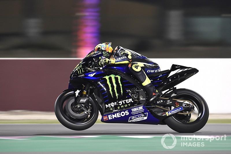 Rossi hoopte op meer, maar prijst het 'goede werk' van Yamaha