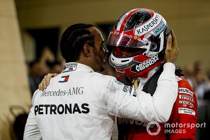 Ez most nem a kameráknak szólt: Hamilton beszéde Leclerchez (videó)