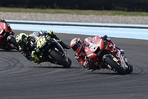 """Dovizioso: """"Si Rossi no hubiese cambiado su planteamiento, se habría autodestruido"""""""