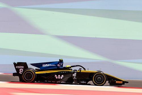 F2 Bahrein: Ghiotto pakt eerste pole-position, De Vries derde