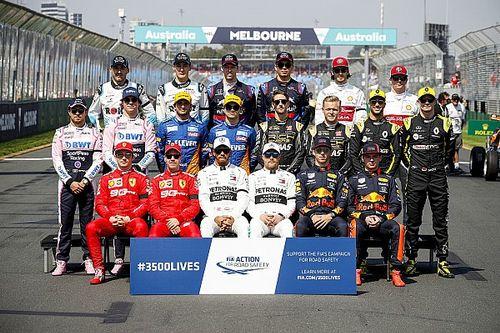 GALERIA: As fotos da 'classe' da Fórmula 1 dos últimos 20 anos