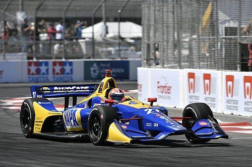 Rossi bate Dixon pela pole da Indy em Long Beach; Leist e Kanaan são 20º e 21º