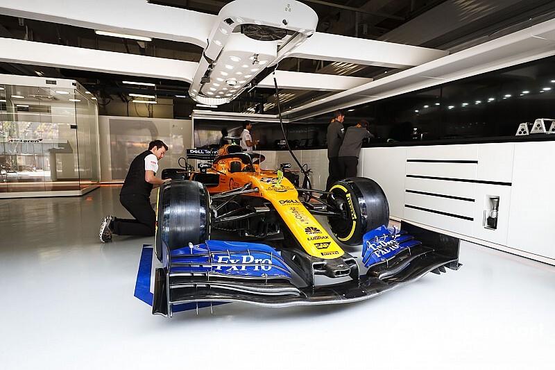McLaren reveals footage of 2020 F1 car fire-up