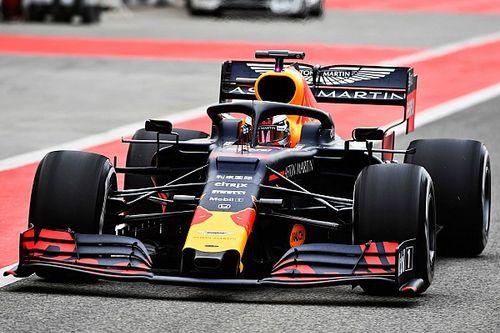 Red Bull werkte, ondanks regenval, prioriteitenlijst af op eerste dag Bahrein-test