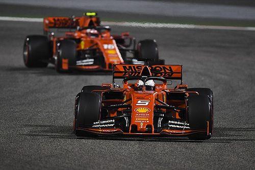 Феттель работал на машине Леклера на тестах в Бахрейне