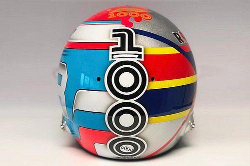 """ラッセル、""""暴れん坊""""モントーヤをイメージした特別ヘルメットで中国GPを戦う"""