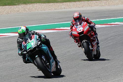 """Morbidelli si gode la sua prima top 5 in MotoGP: """"Per un momento ho pensato di prendere anche Miller"""""""