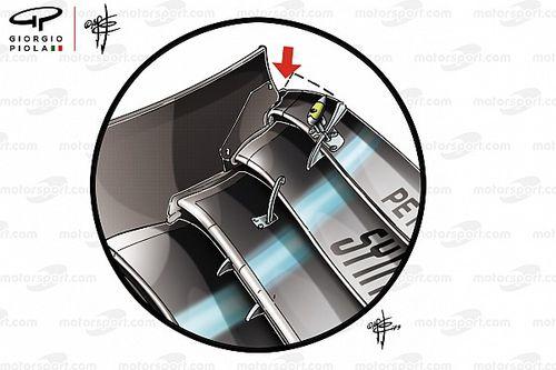 """Mercedes: cuando el """"diablo"""" se esconde en los detalles del nuevo alerón delantero"""