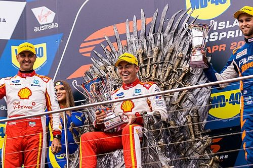 Phillip Island Supercars: McLaughlin wins in DJR Team Penske 1-2