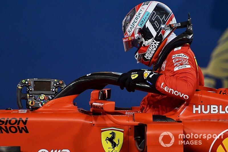 """Leclerc : """"J'aimerais garder ma première place, mais..."""""""