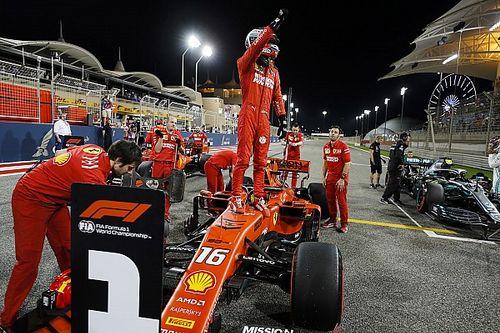Леклер завоевал в Бахрейне первый поул в карьере, Квят опять проиграл Элбону